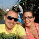 TwoFromWales at the Floating Markets
