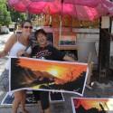 Jemma & Artist in Chiang Mai, Thailand