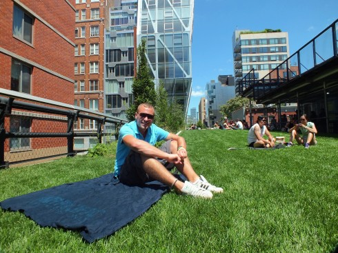 Just Chilling on the High Line