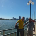 John &amp; Uncle Colin in Perth