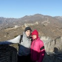 TwoFromWales at the Great Wall