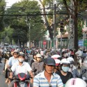 Motorbike City, Saigon, Vietnam